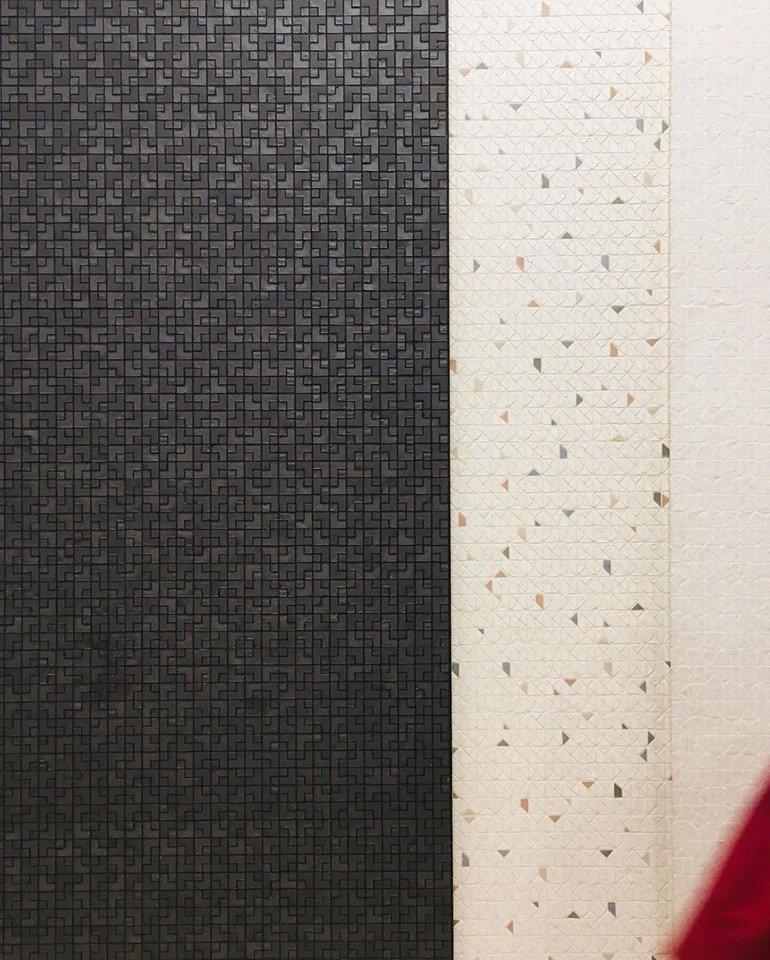 Cersaie 2019 nerosicilia mosaicomicro pietrapece