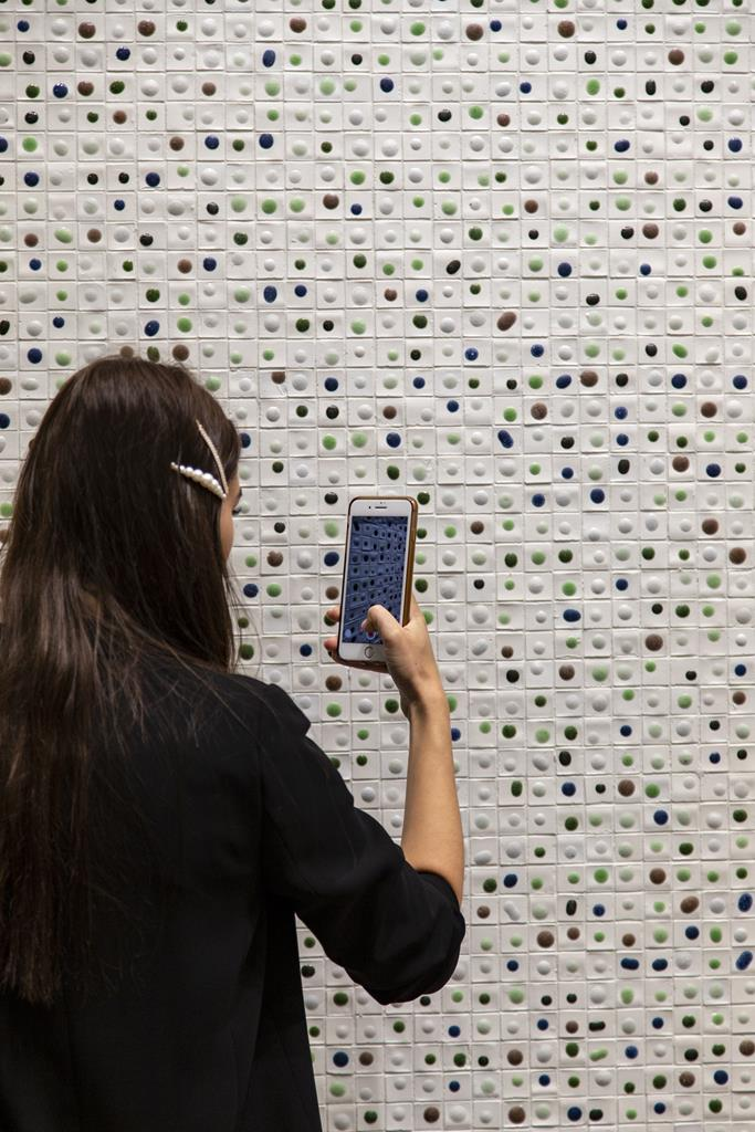 Salone mobile 2019 nerosicilia mosaicomicro pietrapece