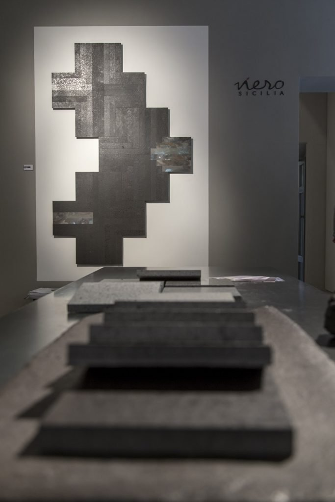 Allestimento Nerosicilia Milano Design Week 2018
