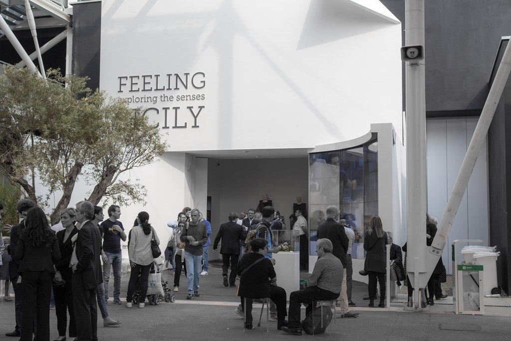 Piazzetta Sicilia con Nerosicilia, Expo 2015