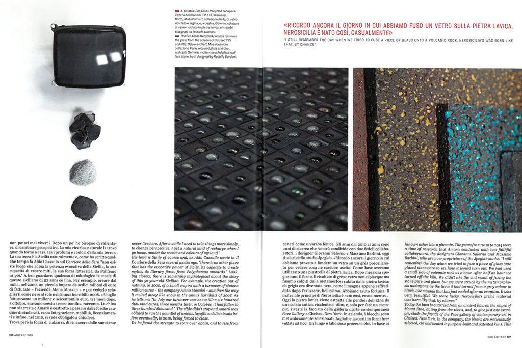 Abitare Magazine 586 Nerosicilia
