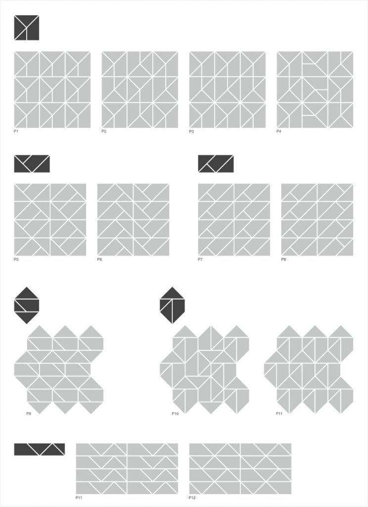 Composizioni superficie Multiplem Nerosicilia