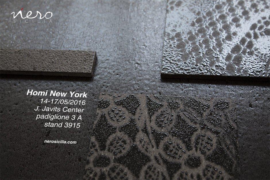 Nerosicilia porta la lava dell'Etna a New York