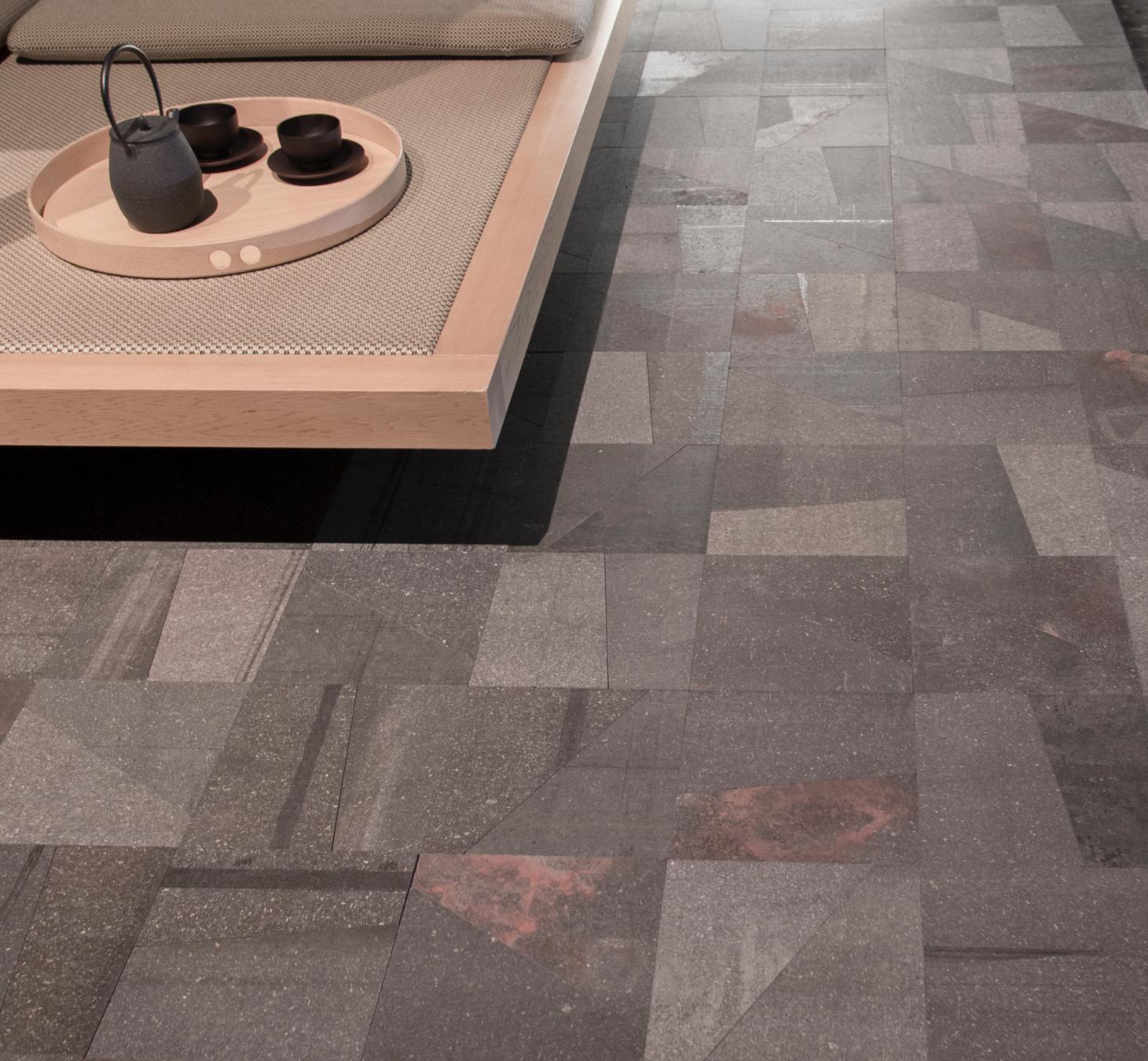 La Pietra Srl Asti pavimenti pietra lavica paola lenti collezione origami
