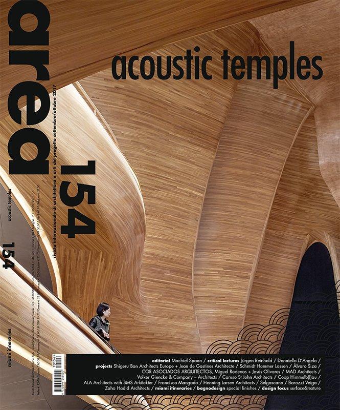 Copertina del magazine Area 154